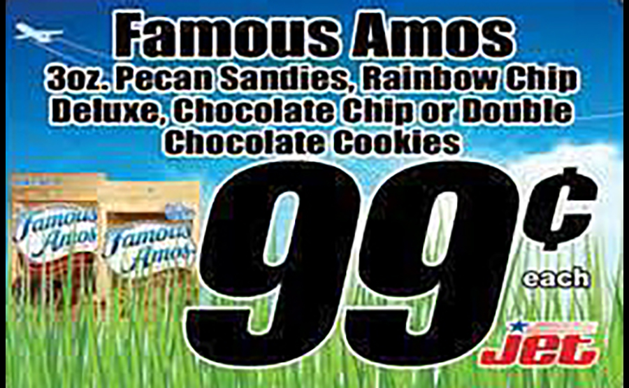 famous amos ad