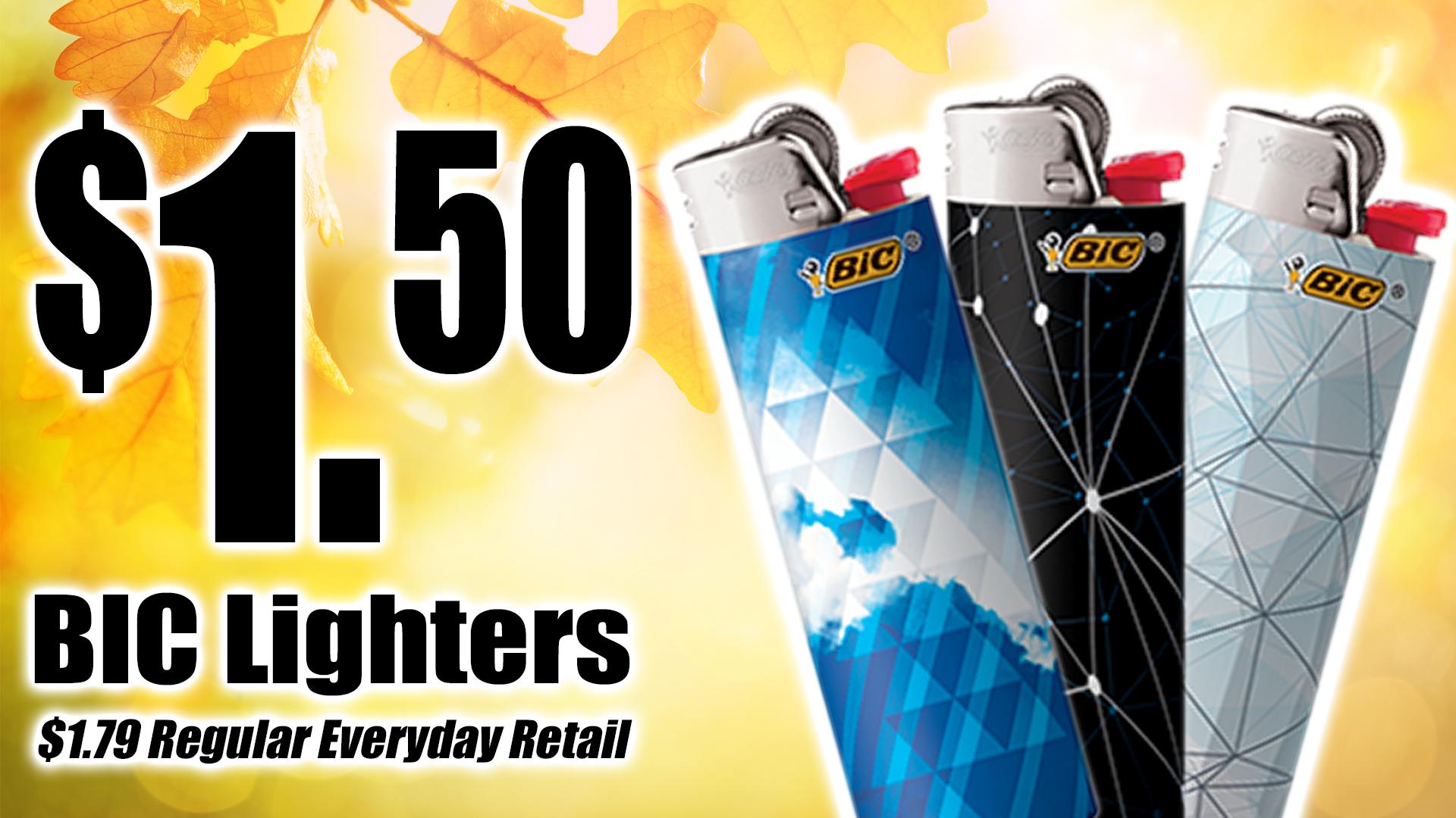 BIC Lighter Promo 2019