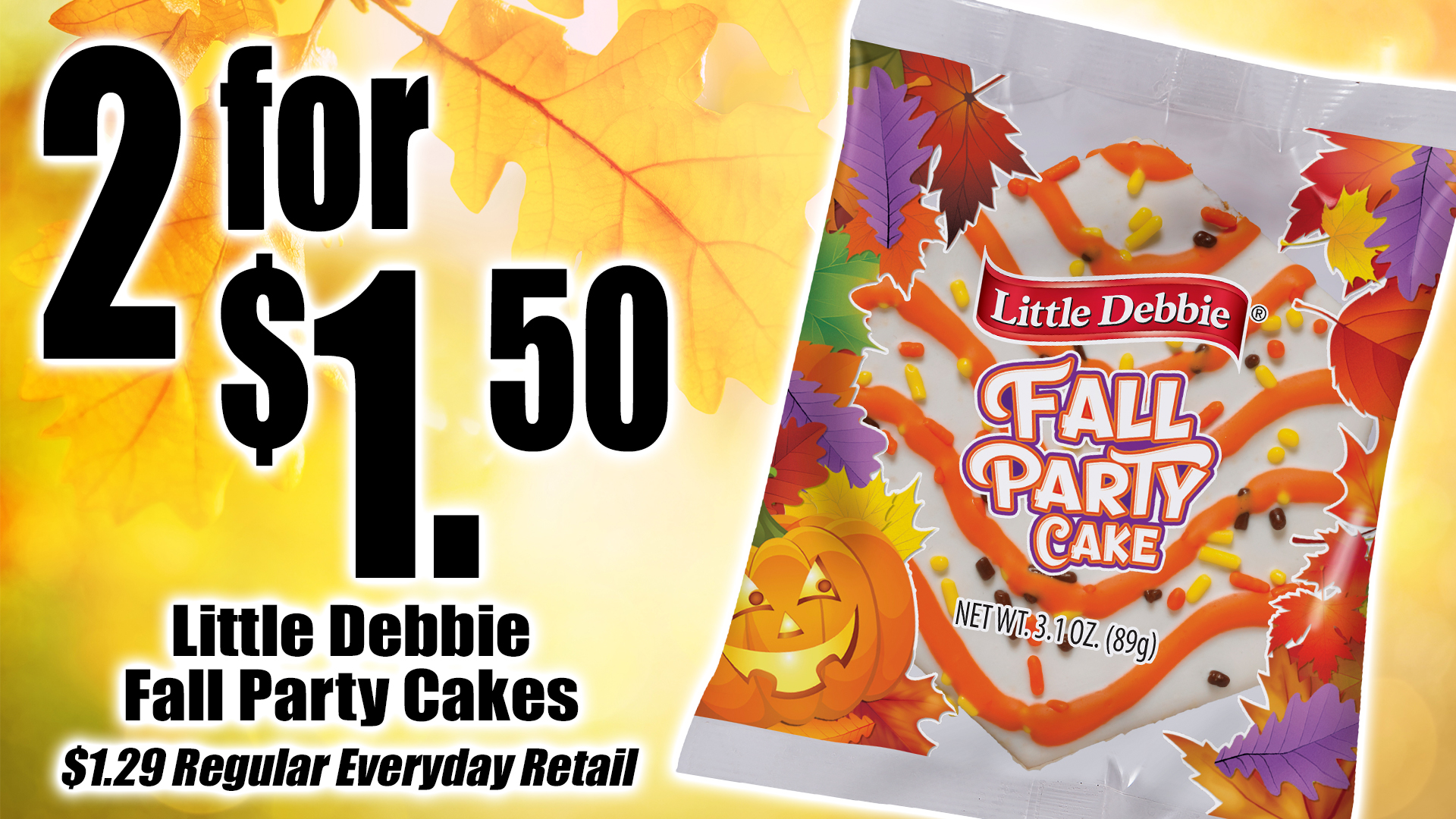 Little Debbie Fall Promo 2019